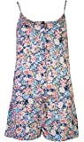 Love Lola Womens Summer Playsuit Floral
