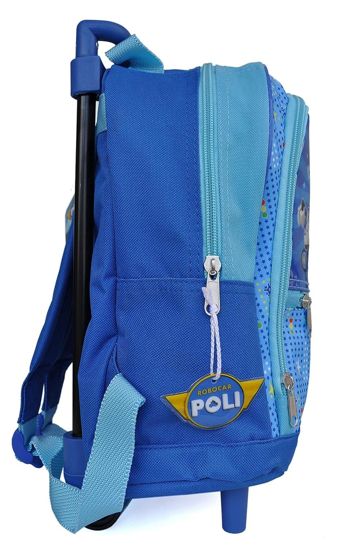Robocar Poli - Mochila escolar con ruedas, diseño de Robocar Poli: Amazon.es: Juguetes y juegos