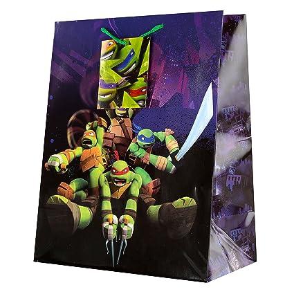 Hallmark - Bolsa de regalo grande de las Tortugas Ninja ...