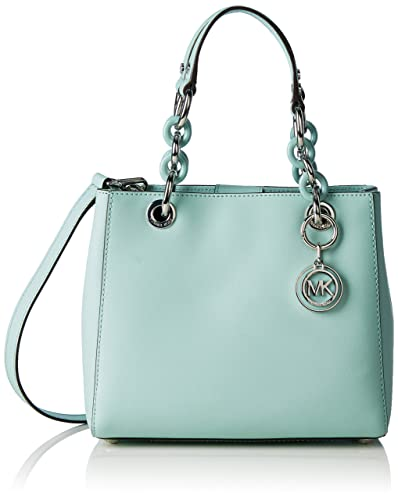 2047e2afd333 Michael Kors Cynthia Satchel CELADON  Handbags  Amazon.com