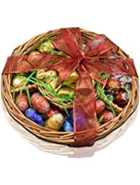 Amazon gourmet gifts grocery gourmet food gift universe lindt and ferrero rocher easter gift basket lindt gold bunnies lindor negle Image collections