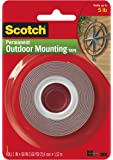 Scotch 3M 4011 Exterior Mounting Tape, 1 in x 60 in