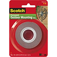 Scotch Exterior Weather-Resistant Mounting Tape