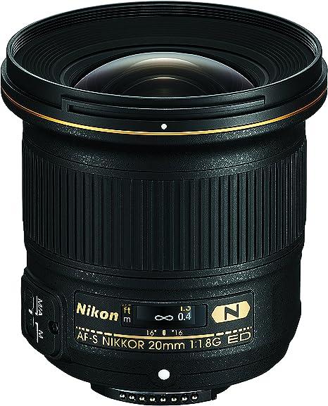 Nikon Af S 20 Mm 1 1 8 G Ed Objektiv Schwarz Kamera