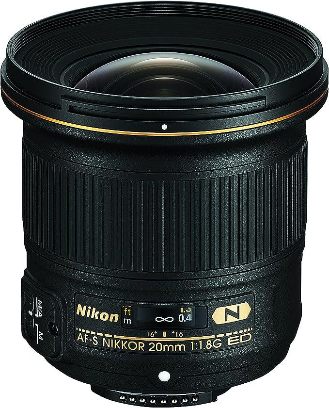Nikon JAA138DA - Objetivo para Nikon (Distancia Focal Fija 20mm ...