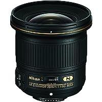 Nikon JAA138DA - Objetivo para Nikon (distancia focal fija 20mm, diámetro: 20mm) negro