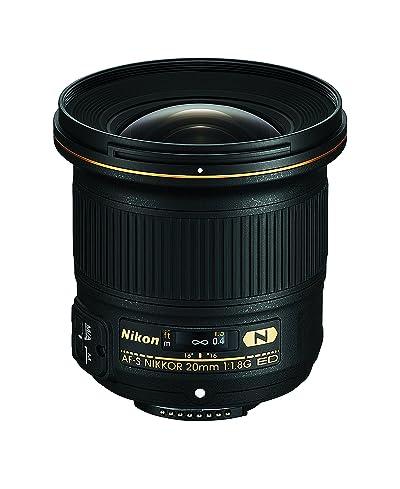 Nikon AF-S FX NIKKOR 20mm f/1.8G ED Fixed Lens