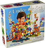 HearthSong® Under the Sea Connectagons 210 Piece Wooden 3D Interlocking Toys Building Play Set