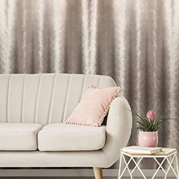 Boutique Sublime Rose Gold Fur Textured Wallpaper Amazon Co