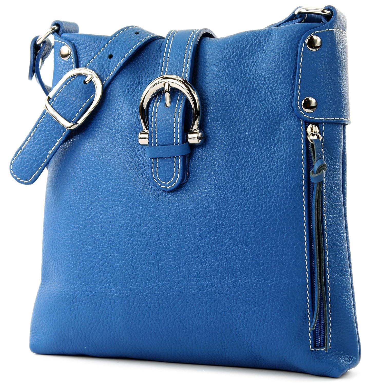 Ital Leather Case Shoulder Bag Girl Messenger Shoulder Bag Citybag T04 Color:red