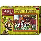 Noris 606031353 - Pettersson Findus Garten Puzzle, 100-teilig