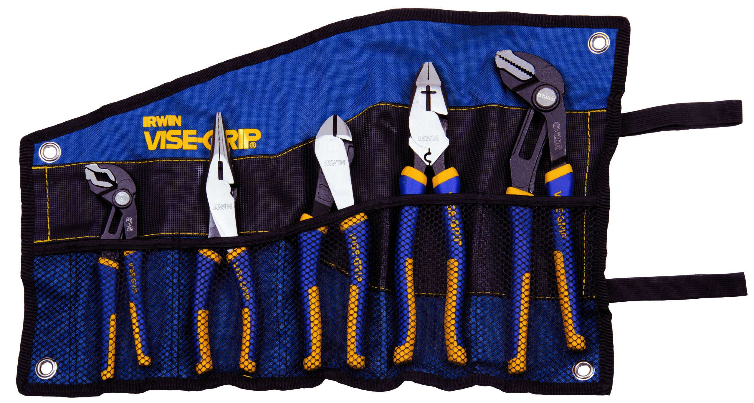 IRWIN VISE-GRIP Pliers Set, 5 Pieces (1802536) by Irwin Tools