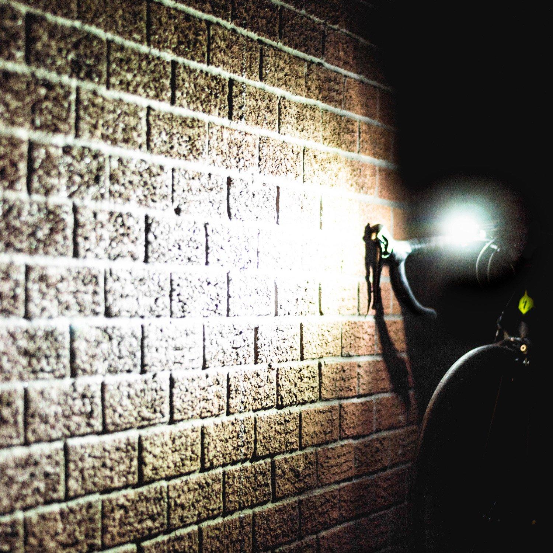 VeloChampion Set di luci bici anteriore e posteriore ricaricabili con USB VeloChampion