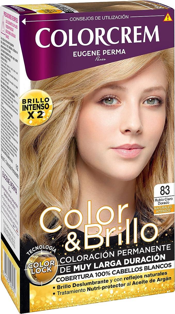 Colorcrem Tinte, Tono: 83 Rubio Claro Dorado - 1 Unidad ...