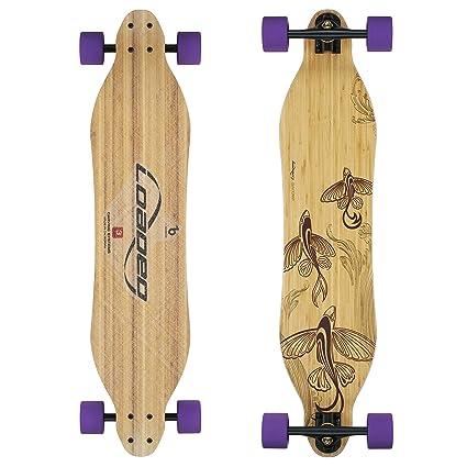 Loaded Boards Vanguard Bamboo Longboard Skateboard Complete (83a Durian f06ce67dff