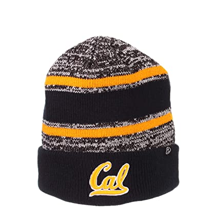 17ea054d45de5 Image Unavailable. Image not available for. Color: Cal Bears Official NCAA  Slush Cuffed Knit Beanie Sock Hat by Zephyr 796092