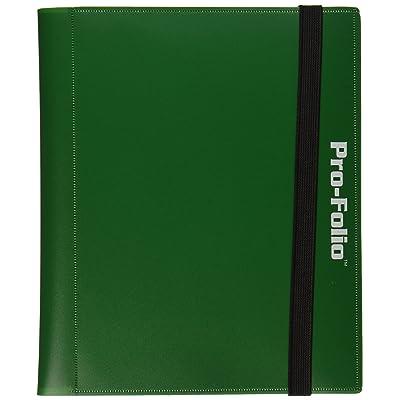 BCW Pro-Folio 4-Pocket Album Green Card Game: Toys & Games