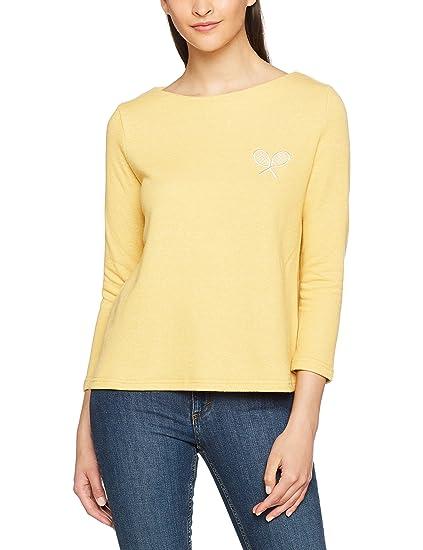 Pepaloves Rosana Top Yellow, Blusa para Mujer, Amarillo (Yellow), S