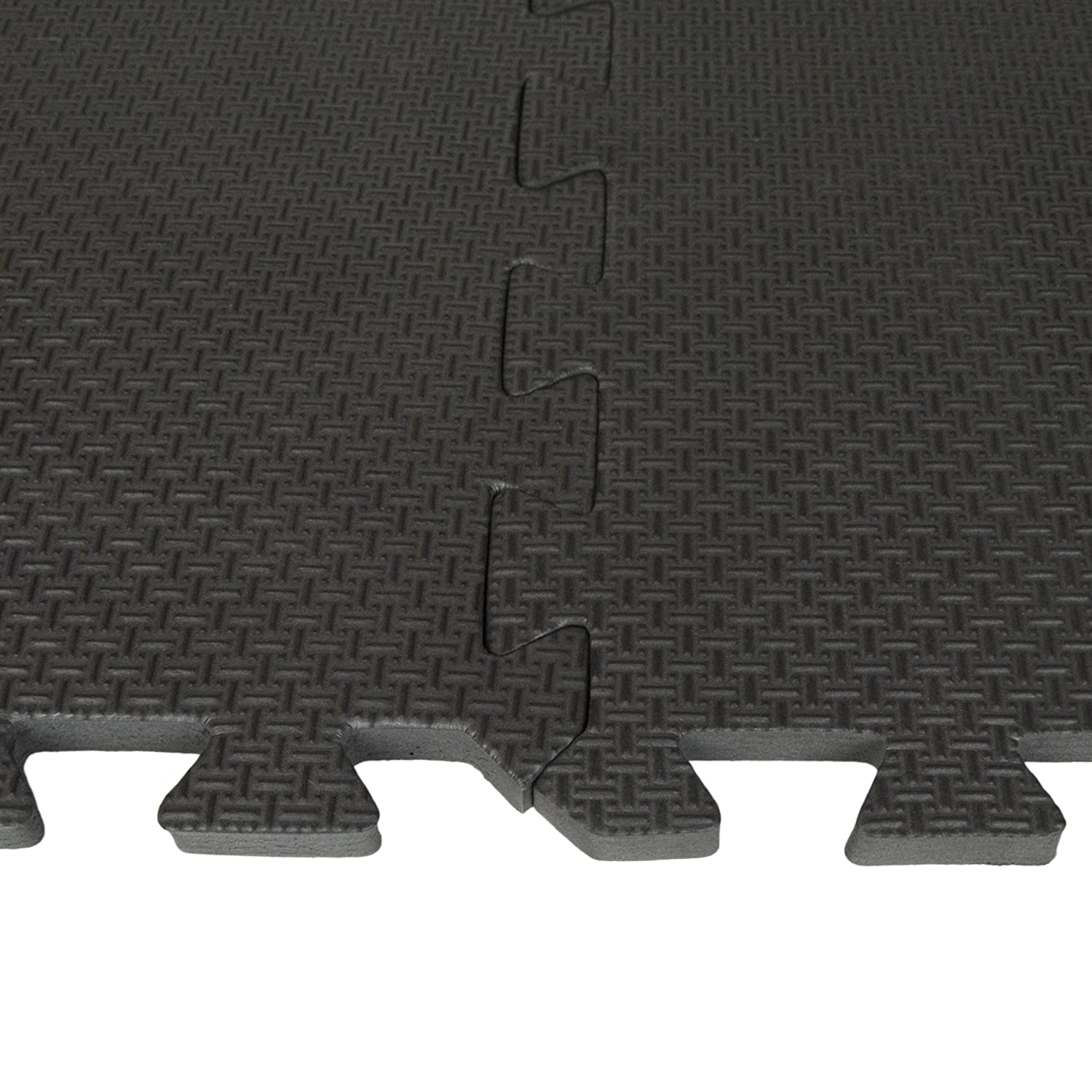Amazon best step interlocking comfort flooring 8 pack plus amazon best step interlocking comfort flooring 8 pack plus borders 2 x 2 x 38 one pack of 8 tiles 32 sq ft microban protected charcoal dailygadgetfo Images