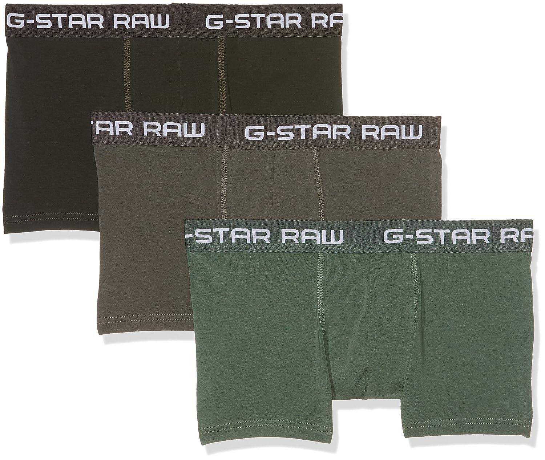 G-STAR RAW Classic Trunk Clr 3 Pack Pantalones Cortos, Multicolor ...