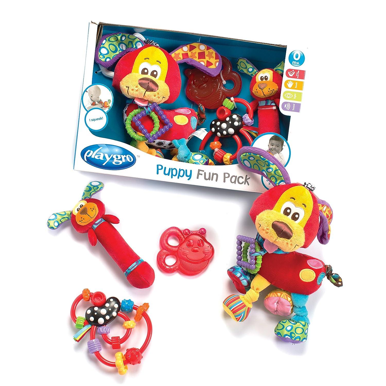 Playgro Set de mordedores diseño Puppy