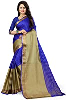 J B Fashion Women's Cotton Silk Saree With Blouse Material