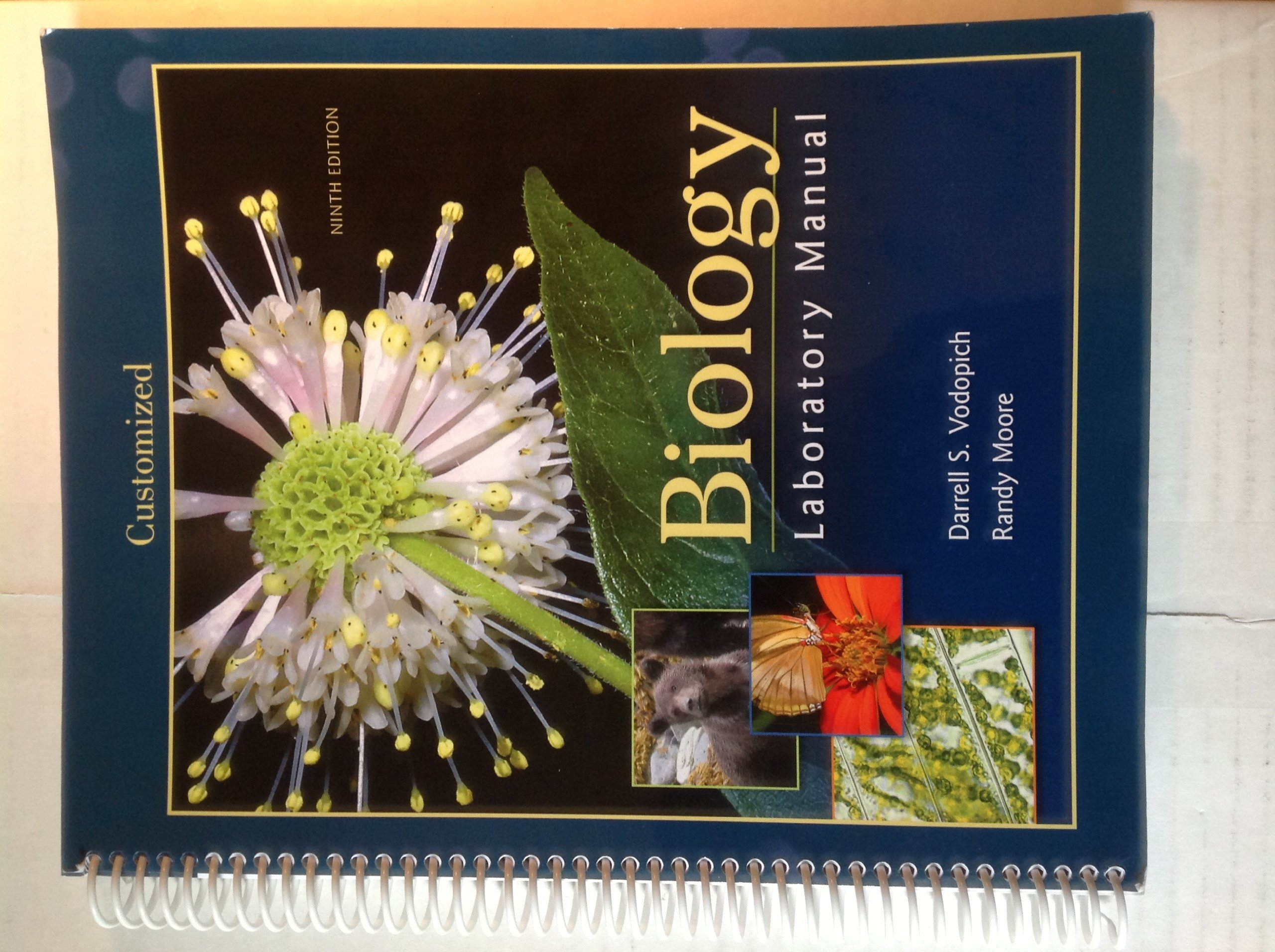 biology laboratory manual darrell s vodopich randy moore rh amazon com vodopich and moore lab manual pdf 9th edition Duke Lab Manual