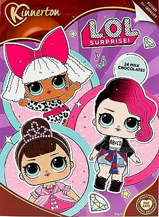Lol Surprise Girls Christmas Chocolate Advent Calendar Amazon Co Uk