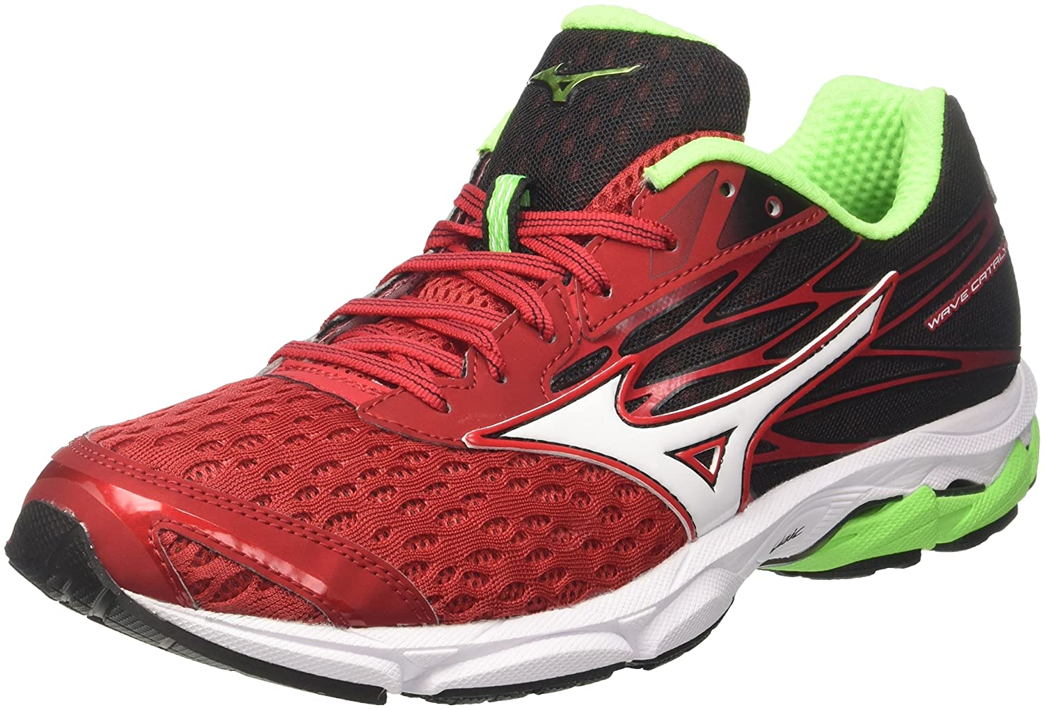 Mizuno Wave Catalyst 2, Zapatillas de Running para Hombre 47 EU|Multicolor (Formulaone/White/Black 02)