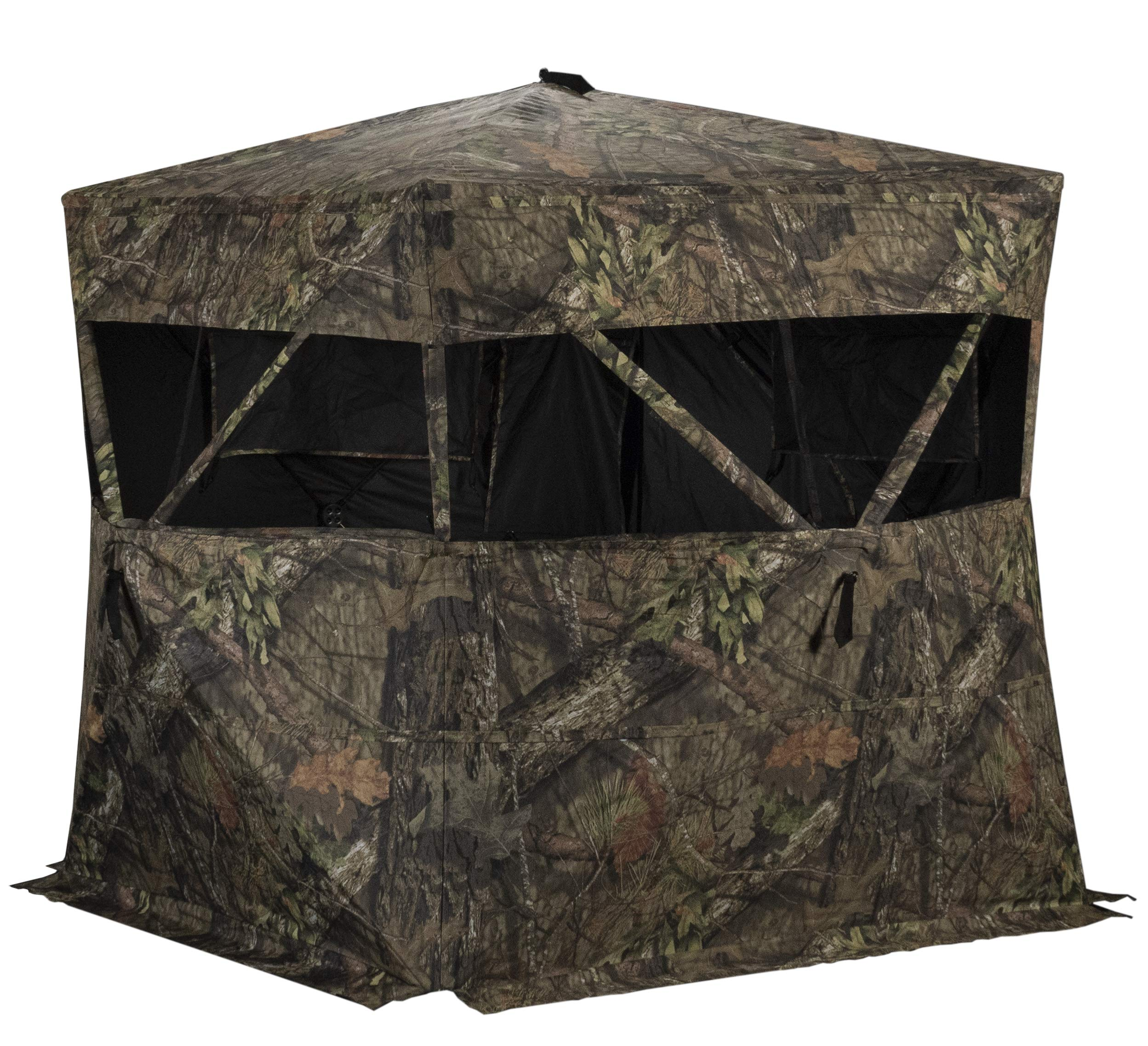 Rhino Blinds R150-MOC 3 Person Hunting Ground Blind, Mossy Oak Breakup Country by Rhino Blinds