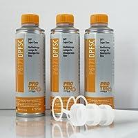 3x 375ml Limpiador de alto rendimiento para filtro de partículas diesel DPF p6171dpfsc