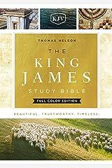 KJV, The King James Study Bible, Ebook, Full-Color Edition: Holy Bible, King James Version Kindle Edition