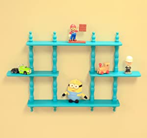 Frenchi Home Furnishing Kid's 3-Tier Wall Shelves