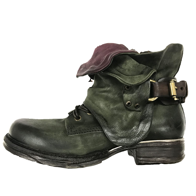 Discount A S 98 Fashion Cowboy/Biker Boots Black for Women Sale