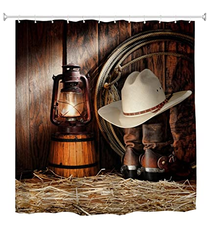 Image Unavailable Not Available For Color Goodbath Western Shower Curtain Set