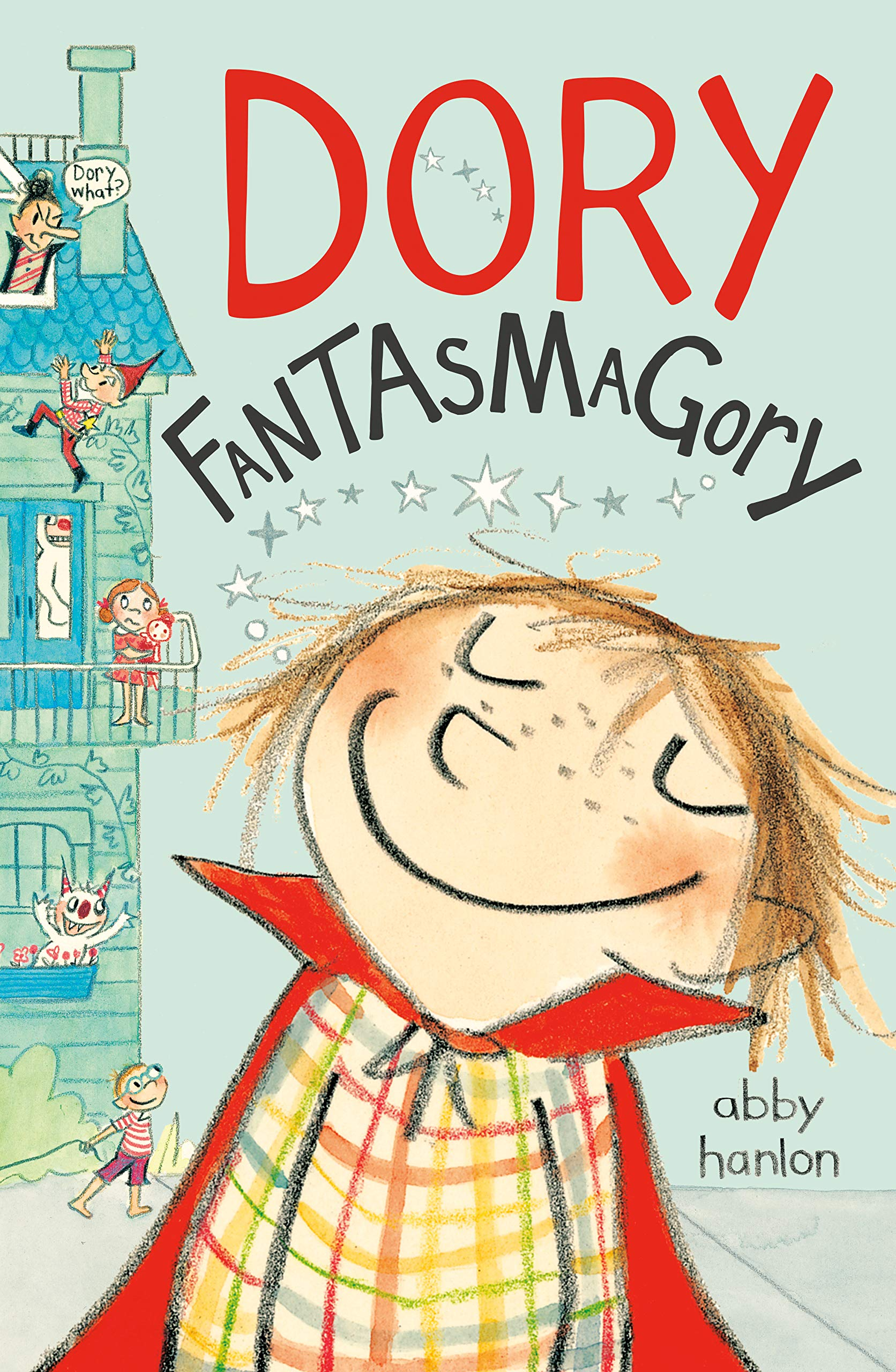 The Best Chapter Books for 1st Graders featured by top Seattle lifestyle blogger, Marcie in Mommyland: Dory Fantasmagory