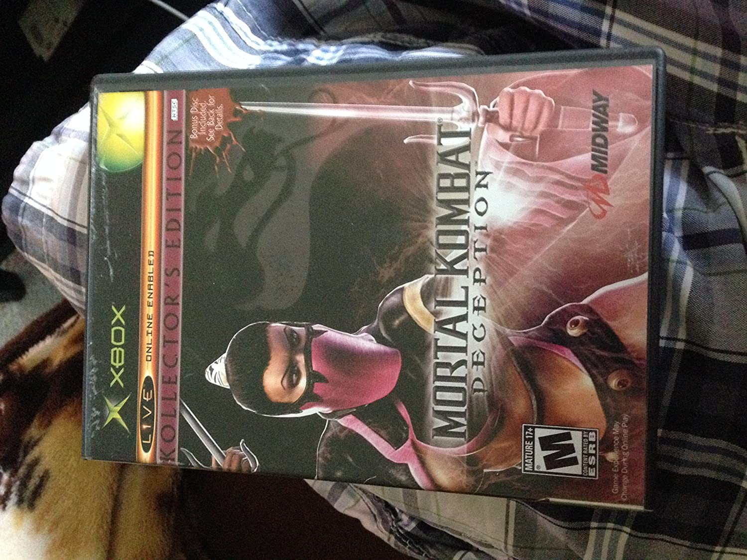 Amazon com: Mortal Kombat Deception Kollector's Edition
