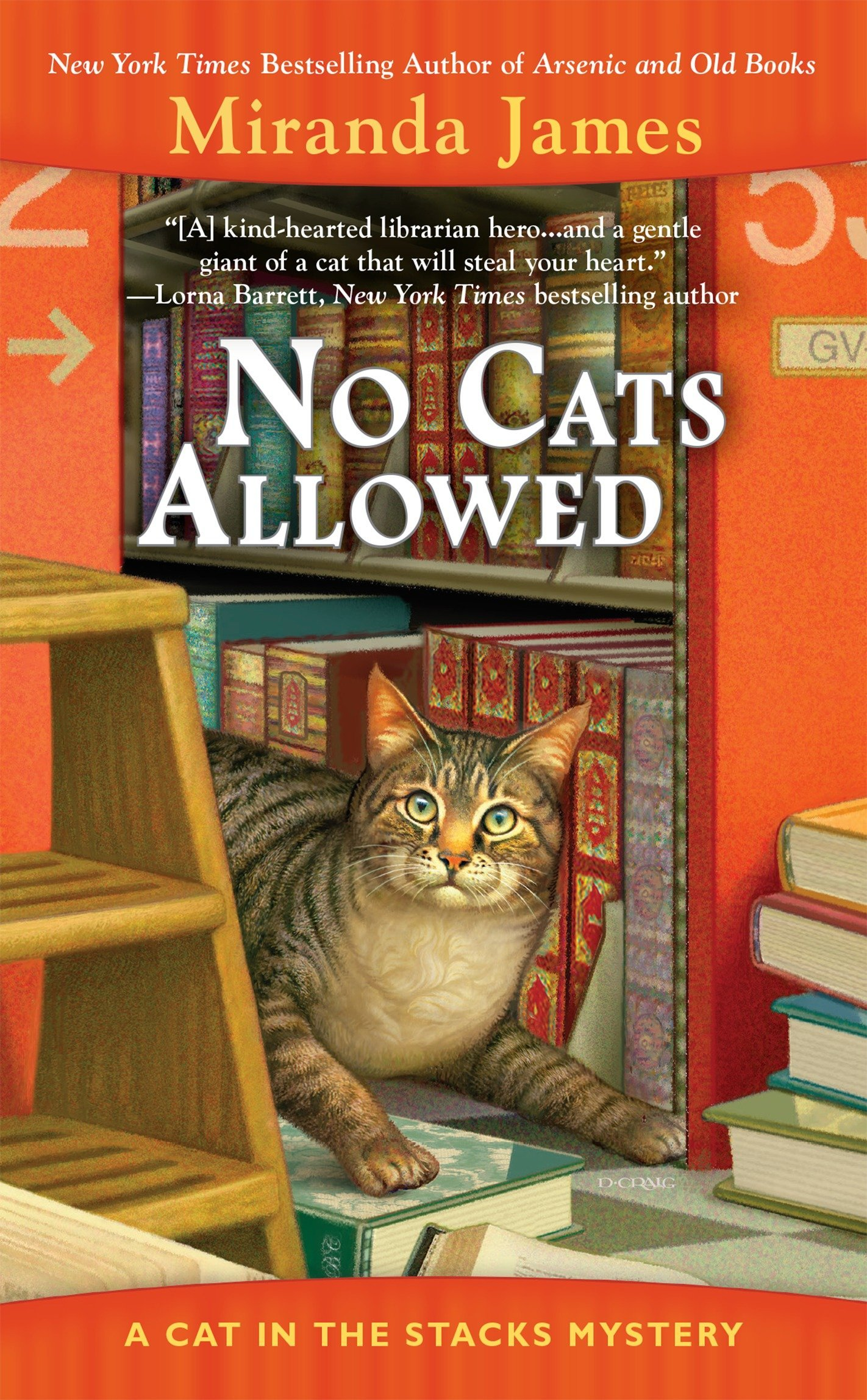 No Cats Allowed (Cat in the Stacks Mystery) ebook