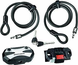 Kryptonite 3500304 Modulus 1010S - Candado de cable, color negro SportsCentre 000457