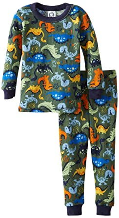 5764519f8 Amazon.com  Gerber Baby-Boys Infant 2 Piece Thermal Pajamas ...