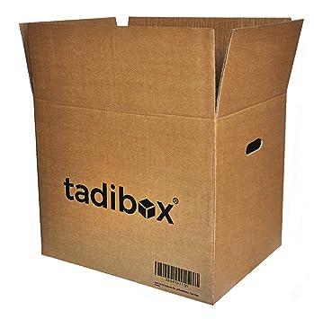 Pack 10 Cajas de Cartón con Asas Extra Resistentes - 470x350x390mm - VARIOS TAMAÑOS - Canal