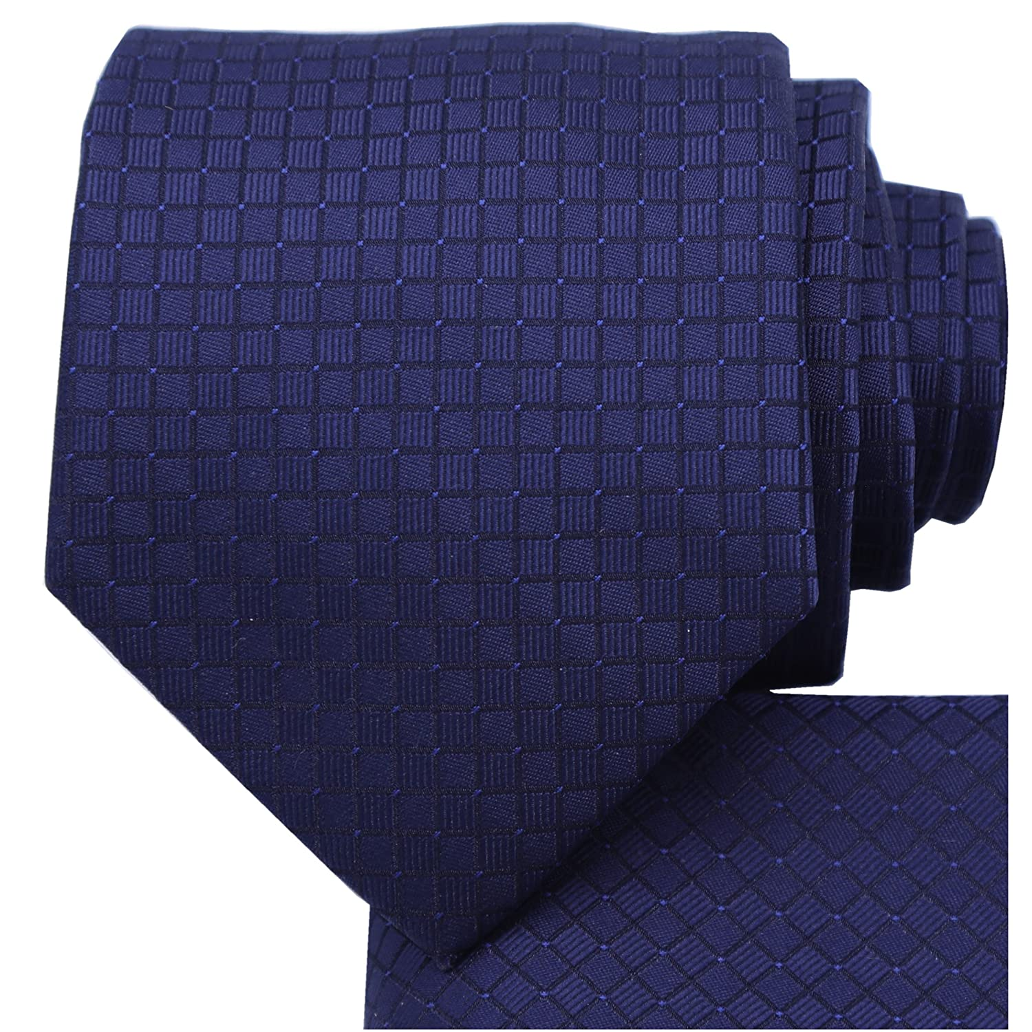 KissTies Ties for Men Solid Color Necktie + Gift Box KT0121