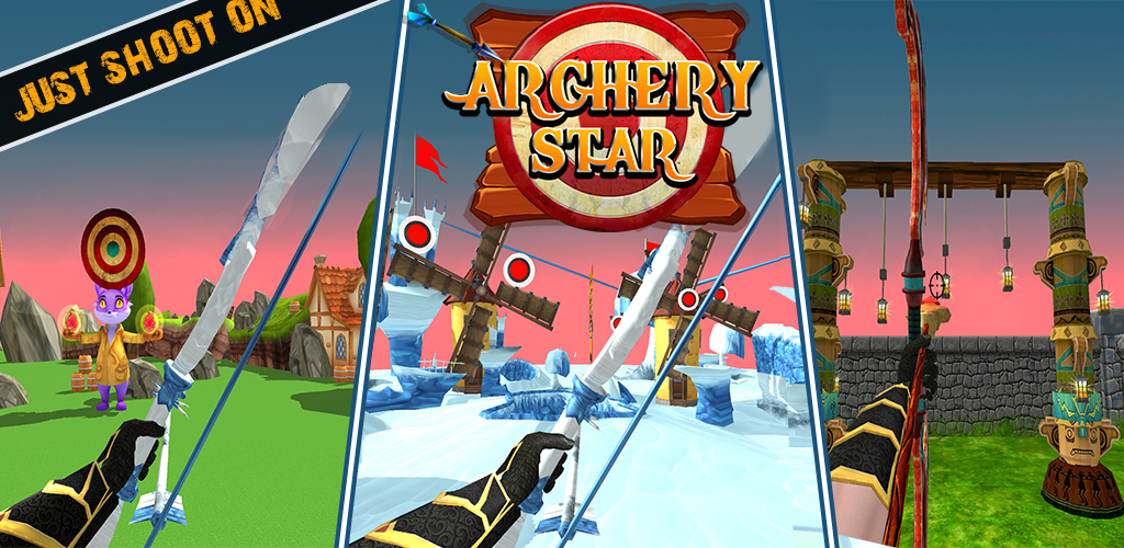 Archery Star Challenges - Free Game Where You Fire with Bow & Arrow to Aim at Targets !