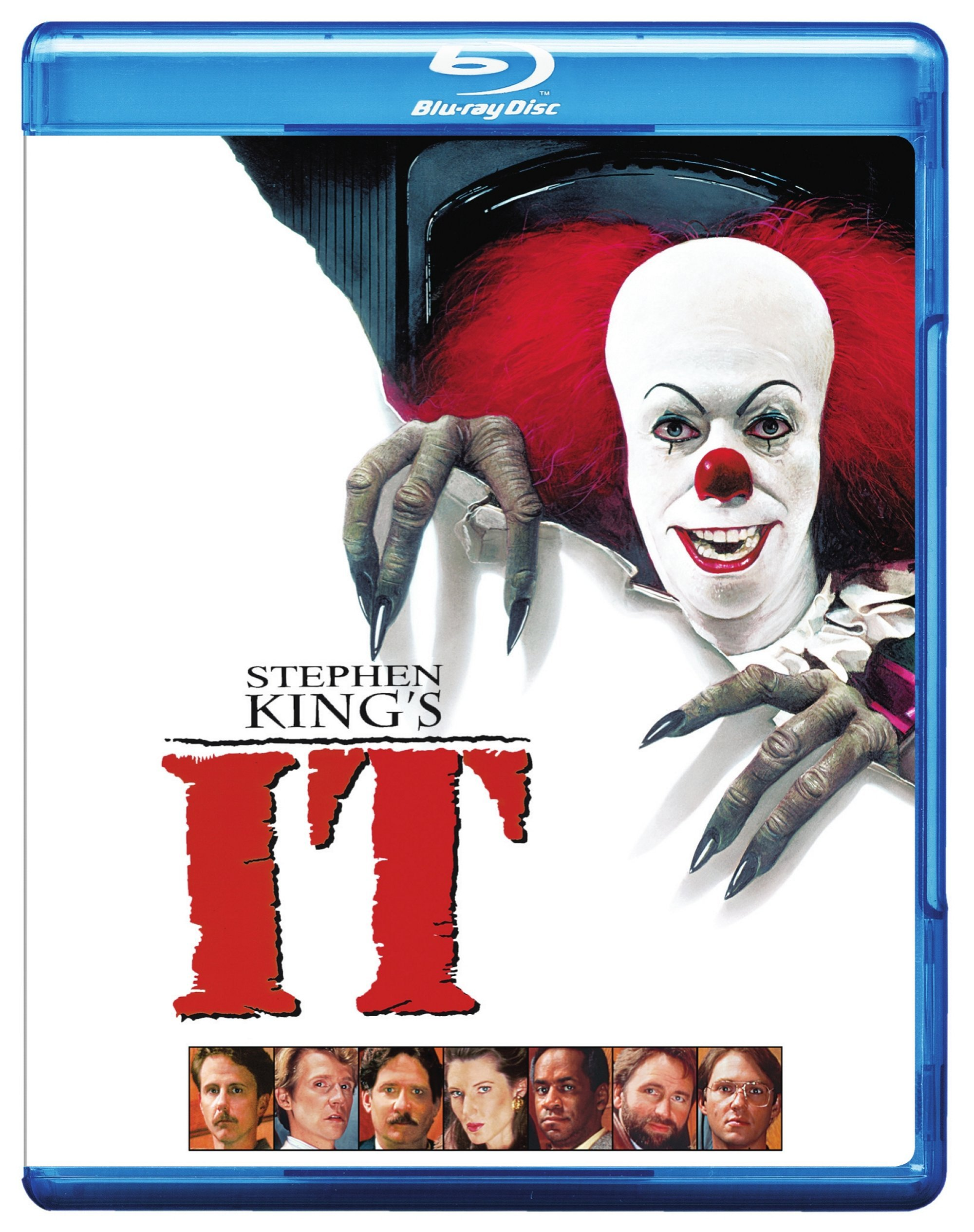 Blu-ray : Stephen King\'s It (Eco Amaray Case)