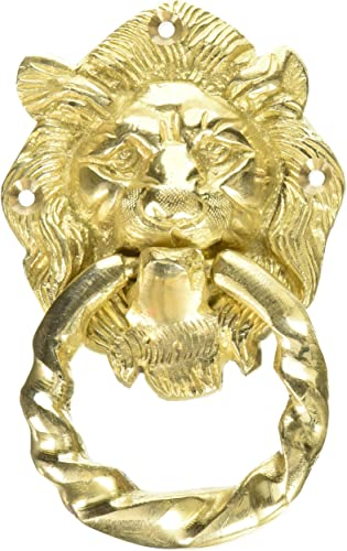 Lion Face Door Knocker by Vyomshop