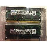 SAMSUNG 8GB kit DDR3 1333 MHz PC3 10600 (2X4GB) SODIMM LAPTOP MEMORY