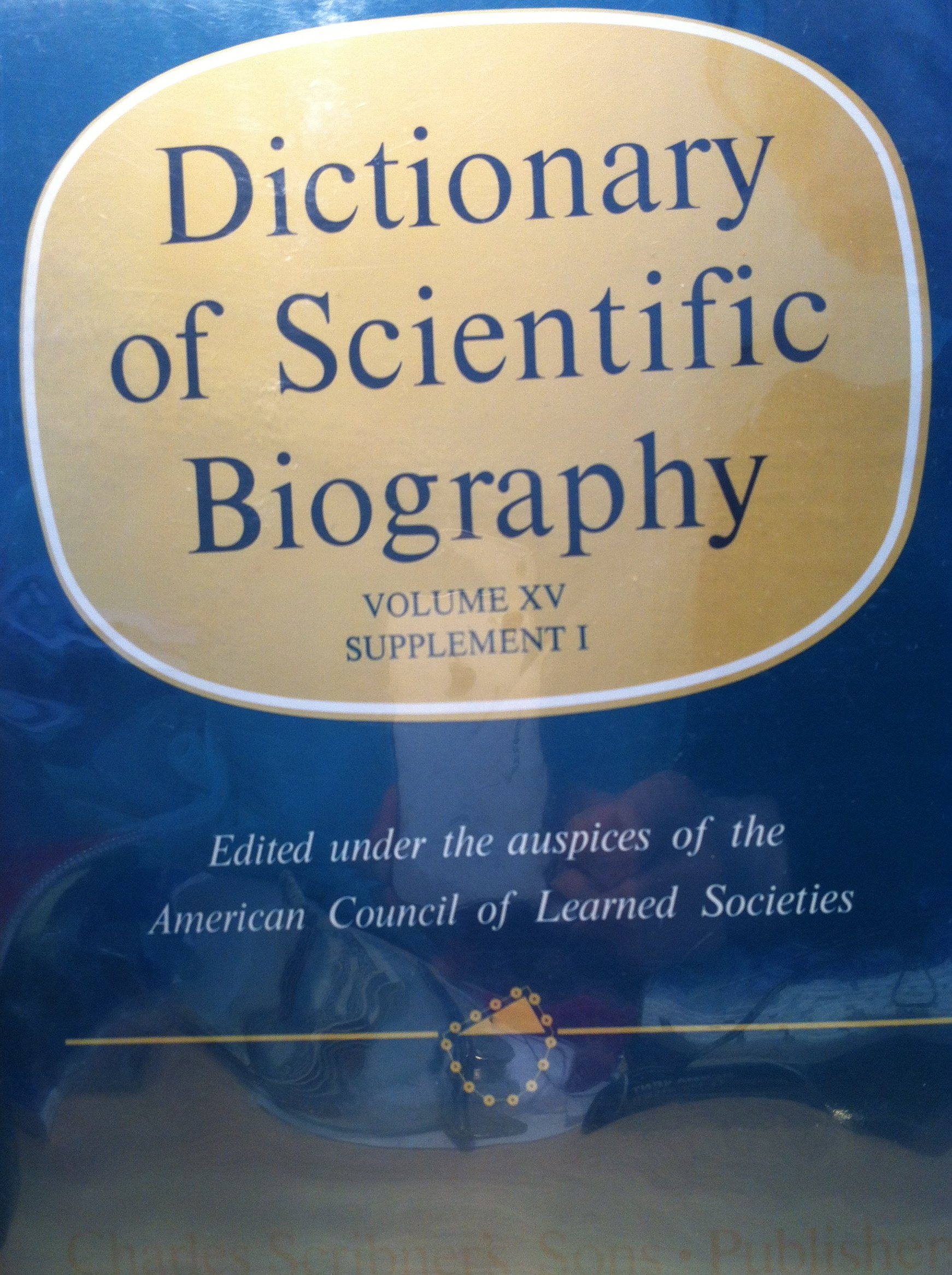 Dictionary of scientific biography
