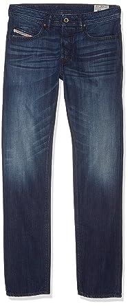 1919aa38 Amazon.com: Diesel Buster Men's Regular Slim-Tapered Denim Jeans ...