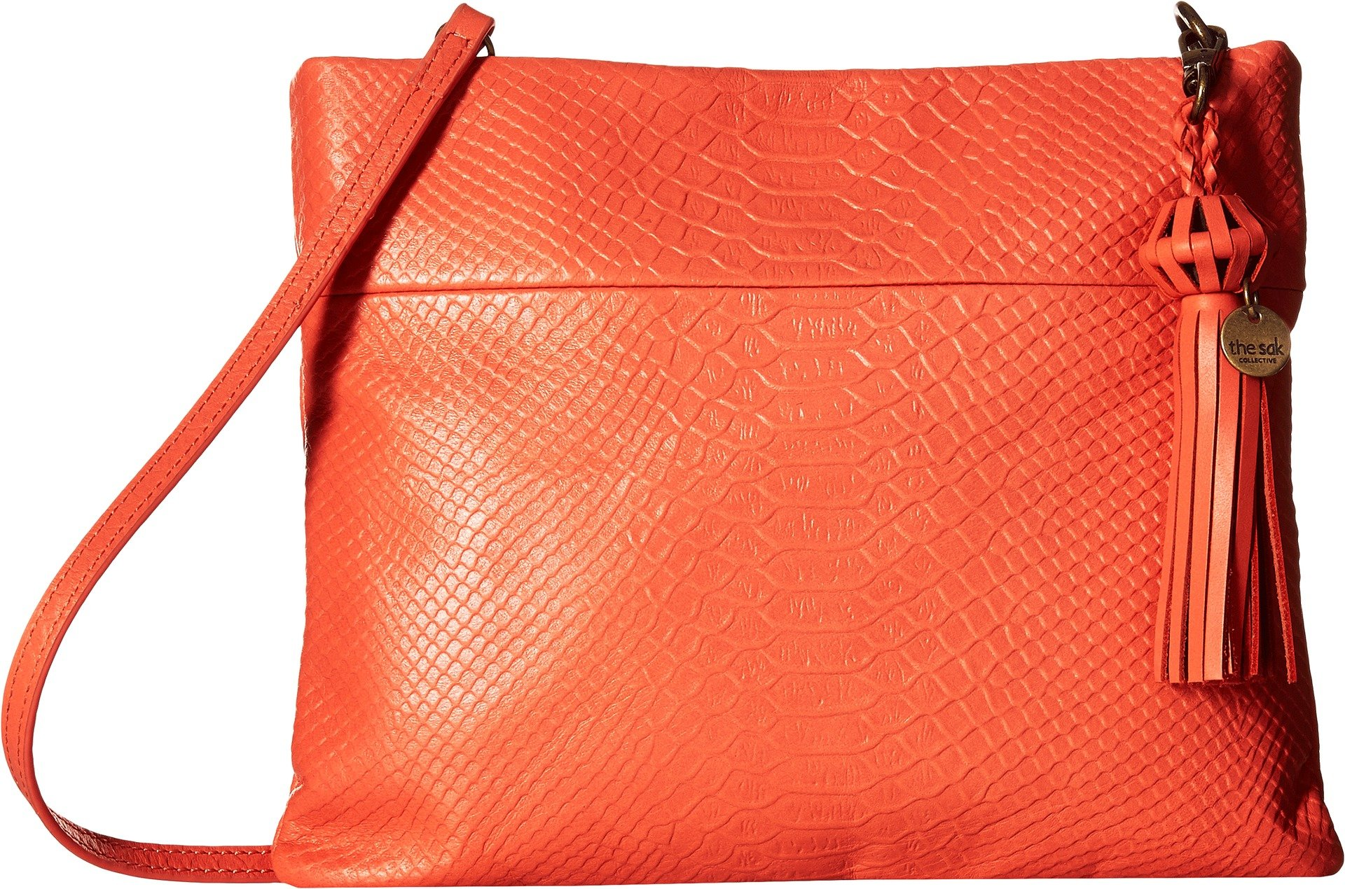 The Sak Women's Tomboy Convertible Clutch by The Sak Collective Warm Coral Exotic One Size