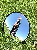 Eyeline 高尔夫 360 度镜子,可全面挥杆和推杆